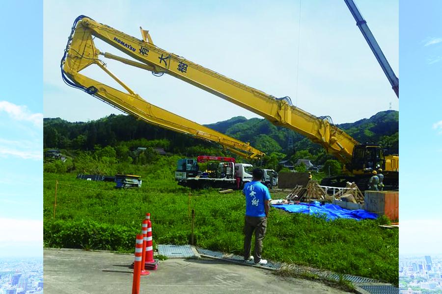 福知山 橋の解体3